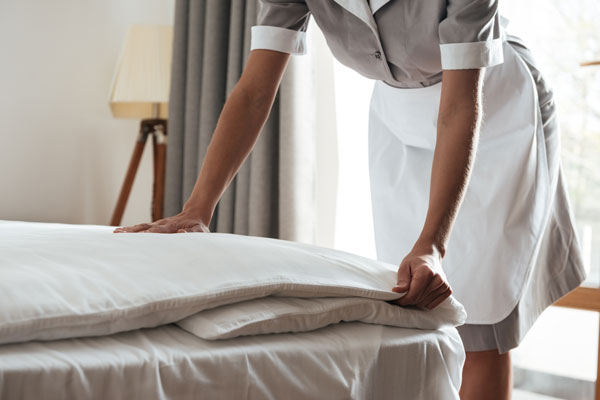 Hotel Bett Roomservice Housekeeping